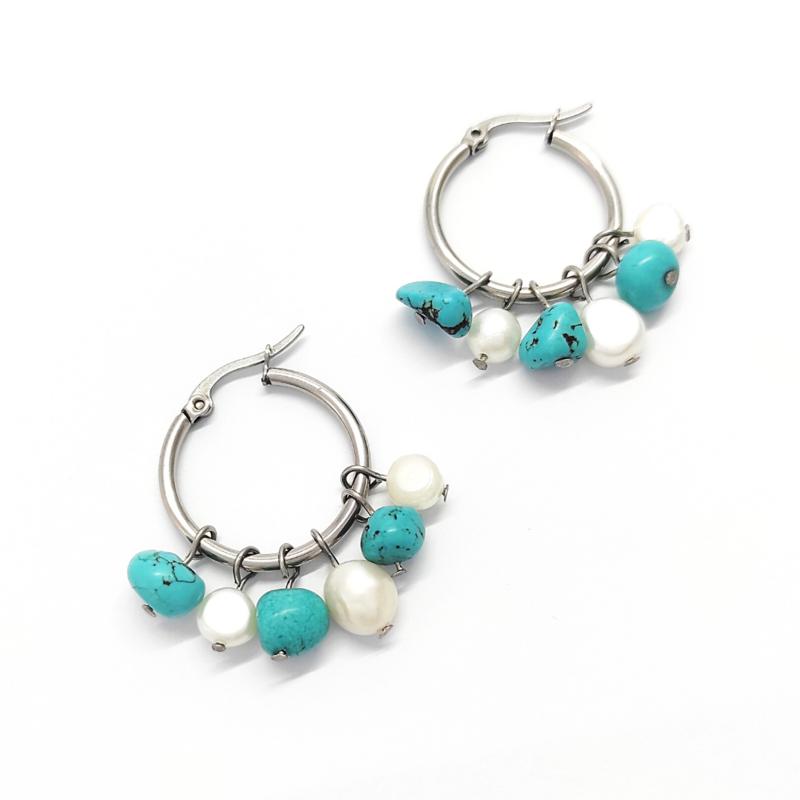 orecchini-gipsy-con-perle-e-turchese