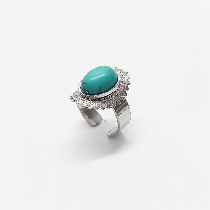 anello-gipsy-acciaio-e-pietra-azzurra