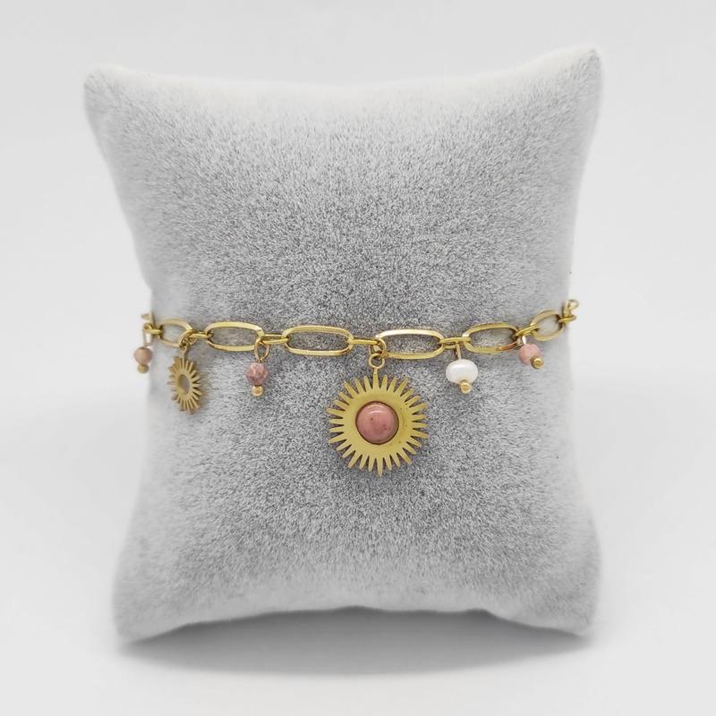 bracciale-zenith-dorato-pietra-rosa